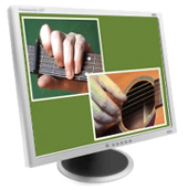 Guitar Lesson Screen